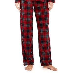Lauren Ralph Lauren Tartan Plaid Fleece Pants XL